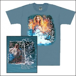 Taylor Swift Oceana Blue Tour Tee
