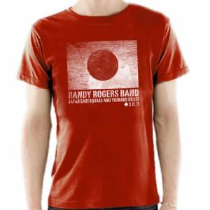 Randy Rogers Band Japan Relief Tee