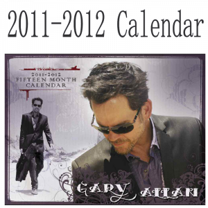 Gary Allan 2011-2012 Calendar